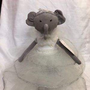 NWT POTTERY BARN Monique Lhuillier Elephant Doll
